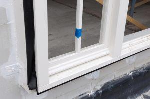 Voorbeeld raam plaatsing